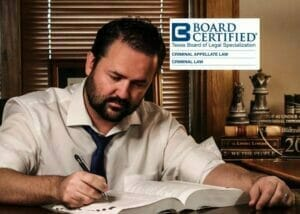 Jacob Blizzard Board Certified Criminal Appeal Criminal Law Attorney