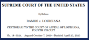 Ramos v. Louisiana