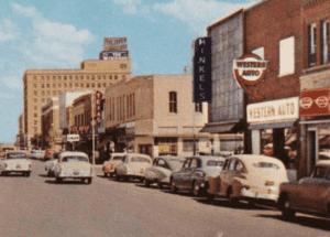 Downtown Abilene Business Vintage